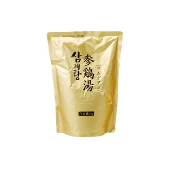 参鶏湯(サムゲタン) (1kg×1袋) 【お試し用】 お届けパッケージ