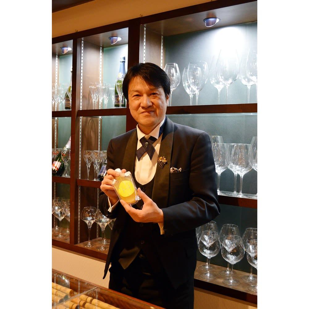 西表島ピーチパインジュース(200ml × 6パック) エール・デュ・ヴァン オーナーソムリエ 神崎庄一郎氏の推奨をいただいてます。