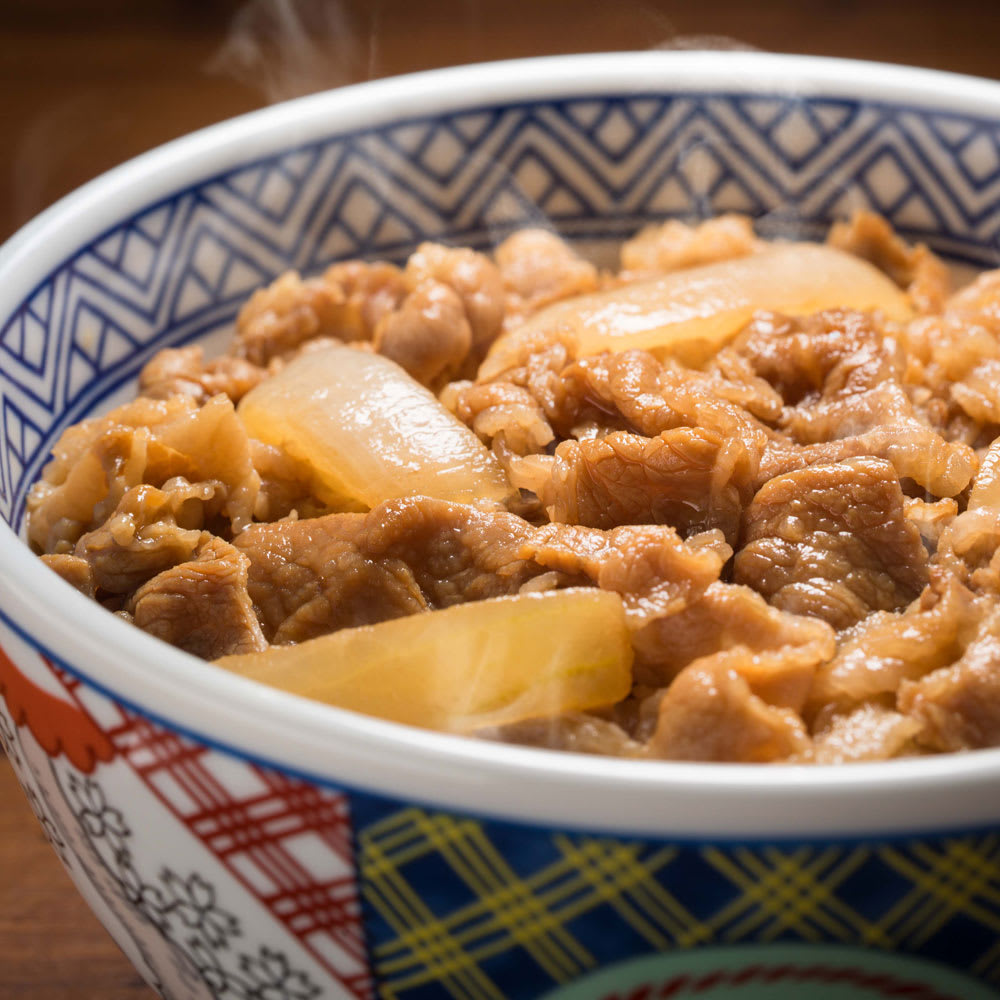 【母の日ギフト】吉野家人気丼3種セット (計10袋) 【盛り付け例】牛丼