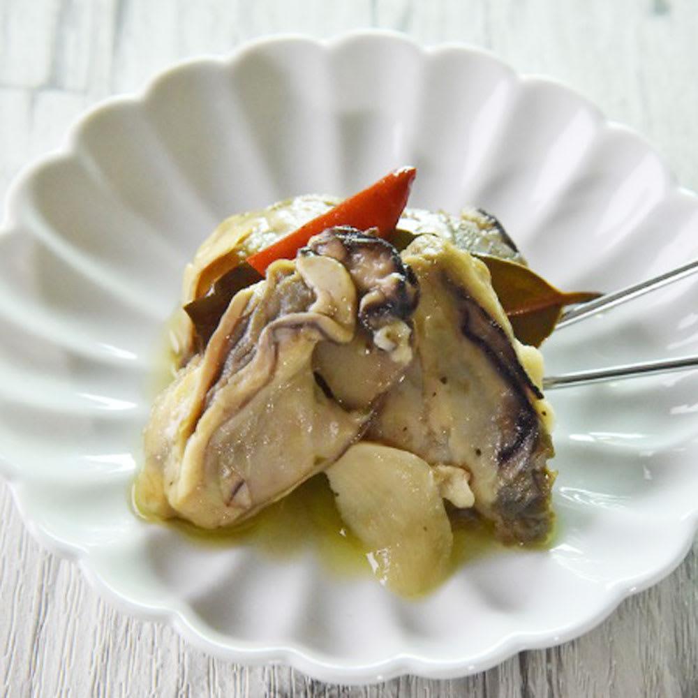 【父の日ギフト】 日本酒&おつまみセット 【盛り付け例】牡蠣のオイル漬け