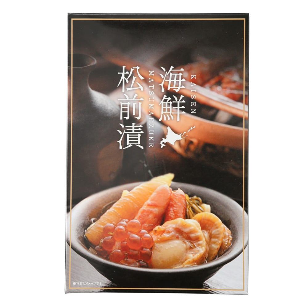【お中元】海鮮松前漬 (500g) (8月上旬お届け) お届けパッケージ
