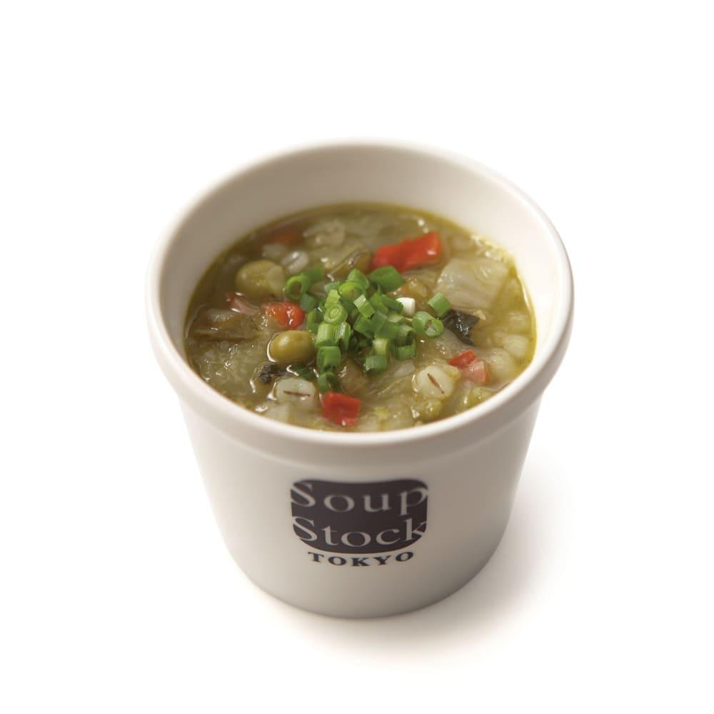 スープストックトーキョー 野菜スープと人気スープセット (各180g 計8袋) 緑の野菜と岩塩のスープ