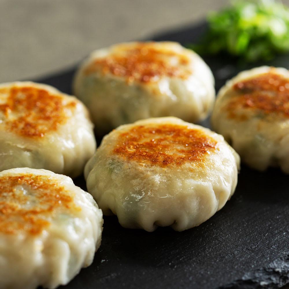 夏のお惣菜福袋 海老入り九条ねぎまんじゅう 【調理例】