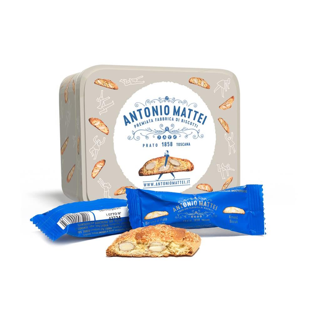 アントニオマッティ・カントチーニ・スクエア缶 お届けパッケージ