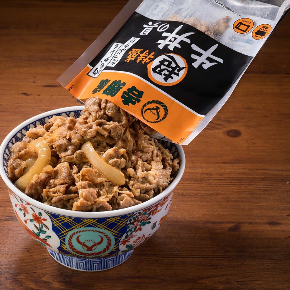 吉野家 超特盛牛丼の具 5食セット 牛丼の具の盛り付け
