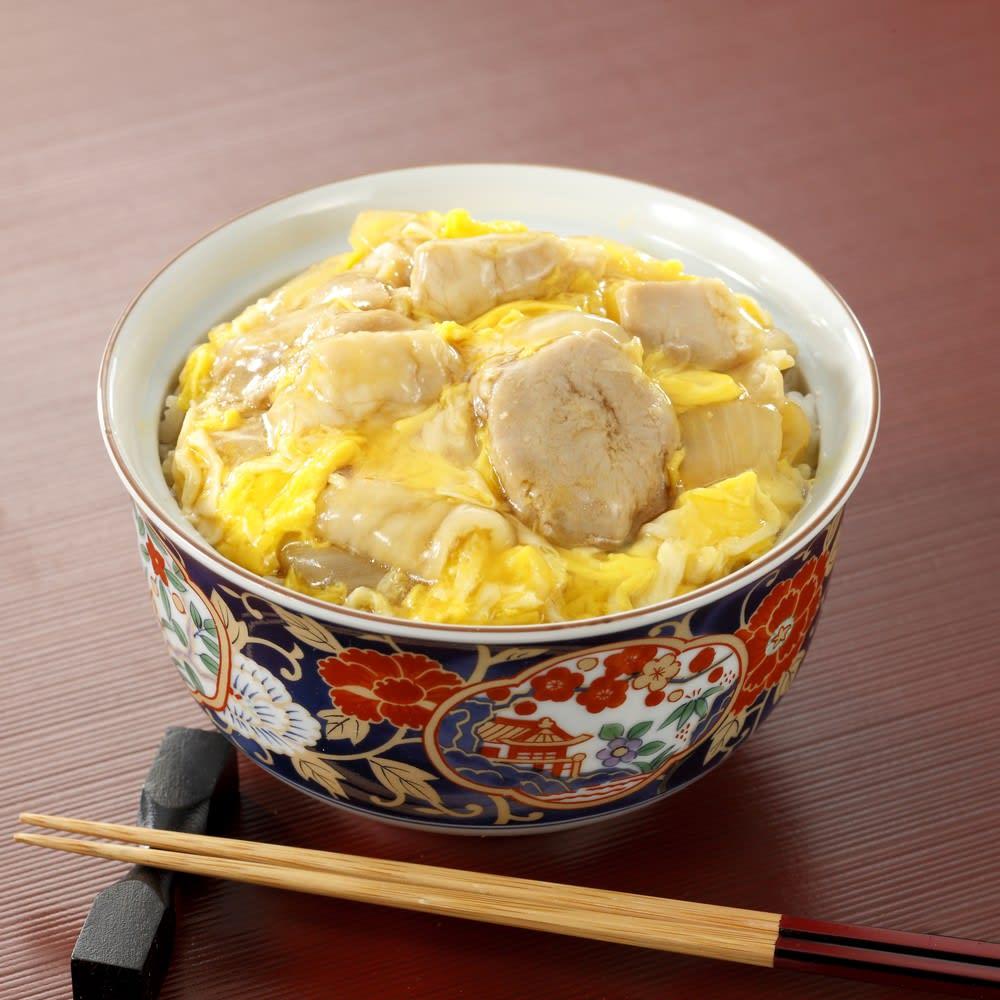 神田明神下「喜川」国産鶏の親子丼の具8食セット 【盛り付け例】