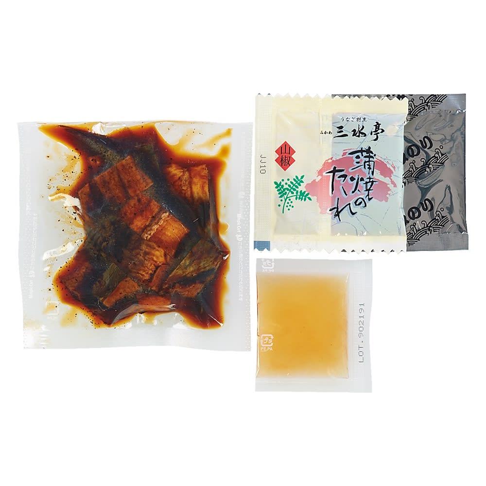うなぎ割烹みかわ 「三水亭」 炭火手焼き うなぎまぶし丼 (4袋) 【通常お届け】 商品パッケージ