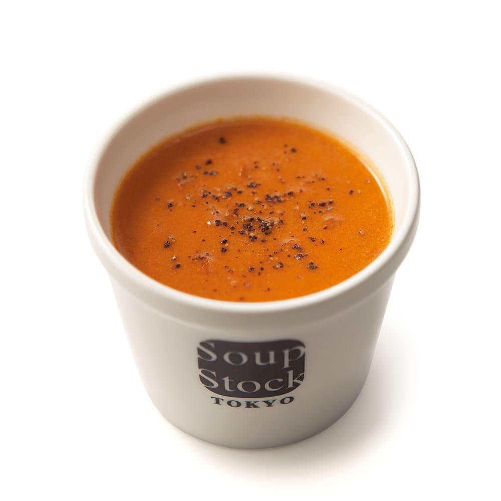 「スープストックトーキョー」カレーとスープのセット 【盛り付け例】オマール海老のビスク