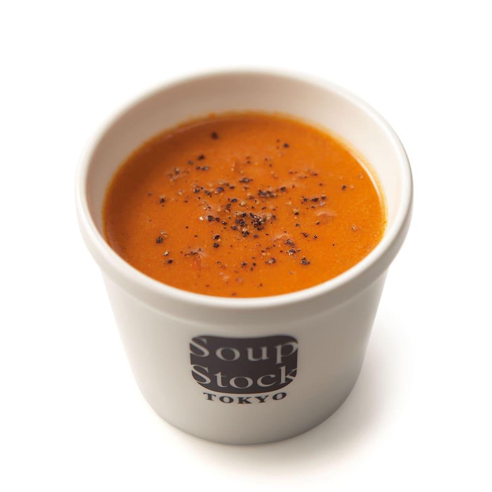 「スープストックトーキョー」和のスープと夏の人気スープセット 【盛り付け例】オマール海老のビスク