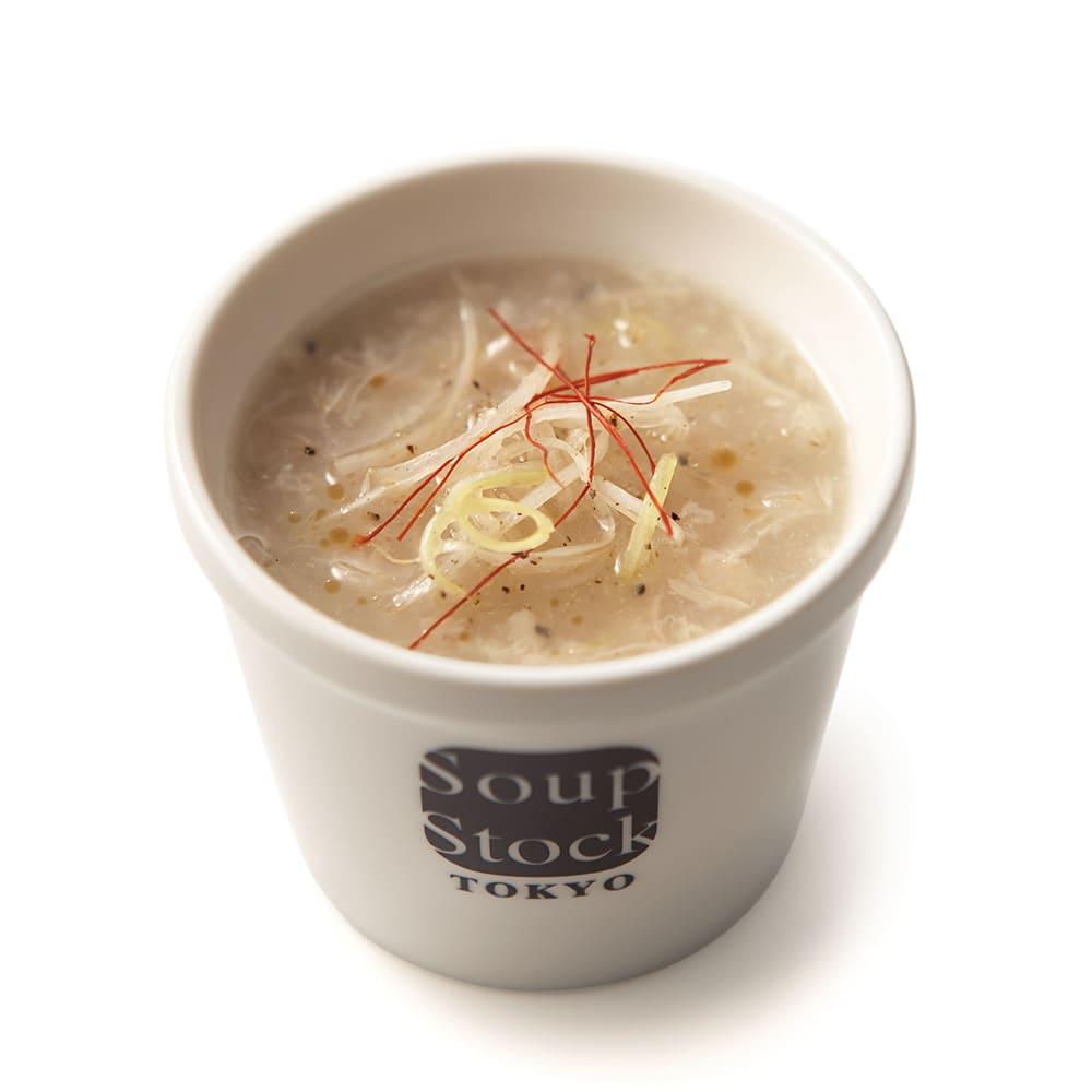 「スープストックトーキョー」和のスープと夏の人気スープセット 【盛り付け例】東京参鶏湯