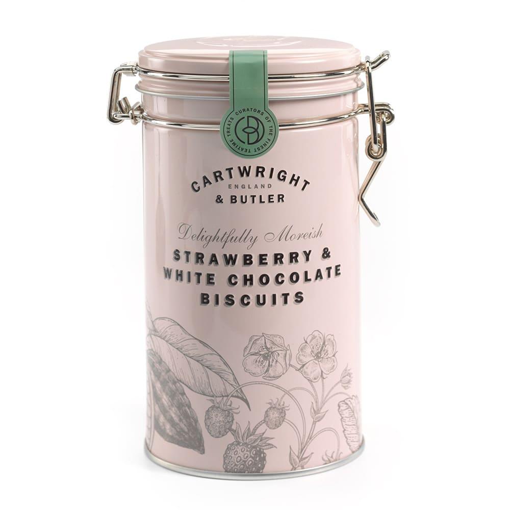 C&B ストロベリー&ホワイトチョコ・ビスケット