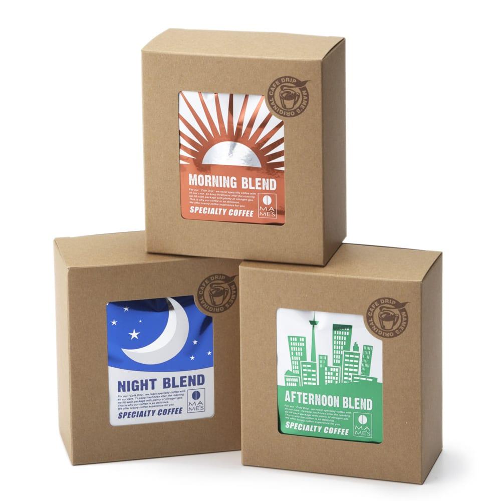 MAME'S/マメーズ ドリップALLDAY (3種計15袋セット) コーヒー