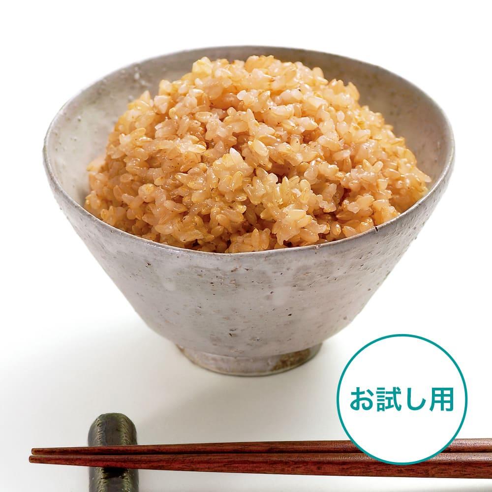 長兵衛玄米(1袋) 【お試し用】 炊飯器で手軽に炊けるもちもち食感の玄米です!