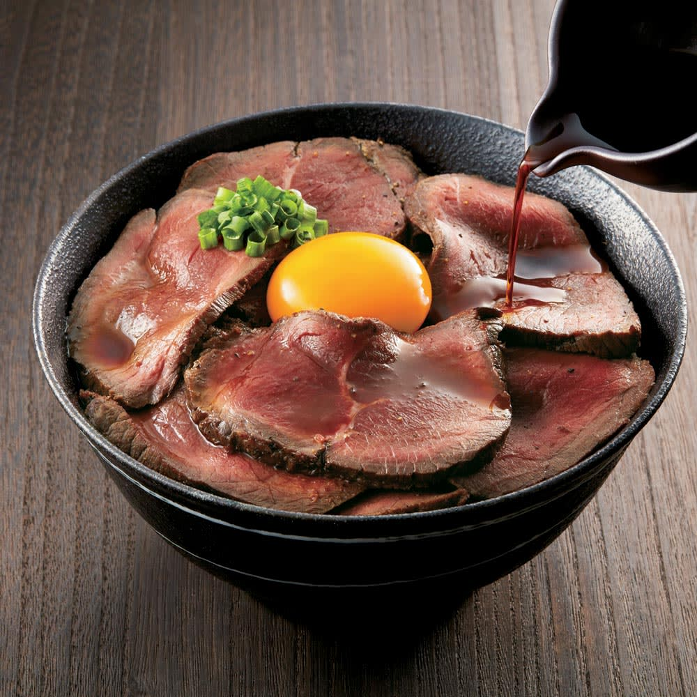 吉祥寺「肉山」特製ローストビーフ (350g) 調理例