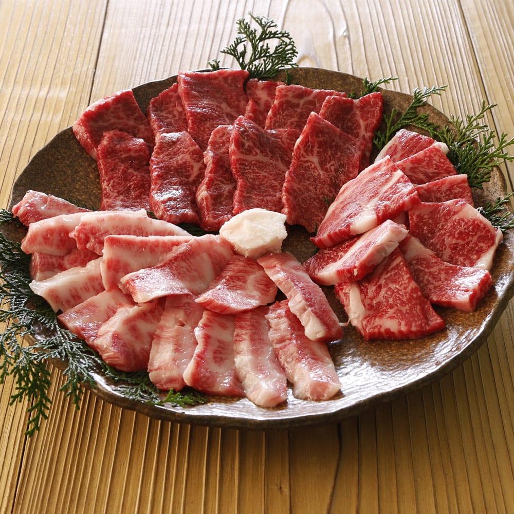 阿波牛 焼肉3種盛セット (計600g) N90338