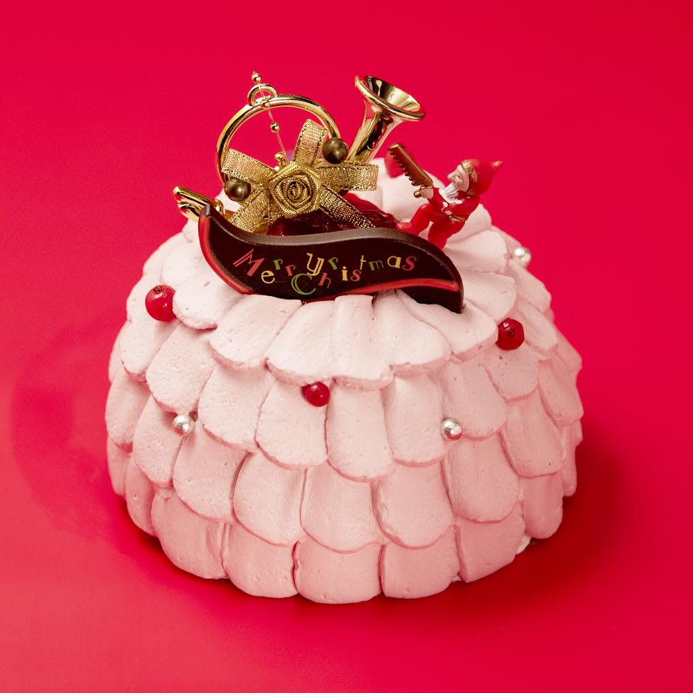 梅月堂 プリンセス クリスマスケーキ 5号(直径約15cm) N91794