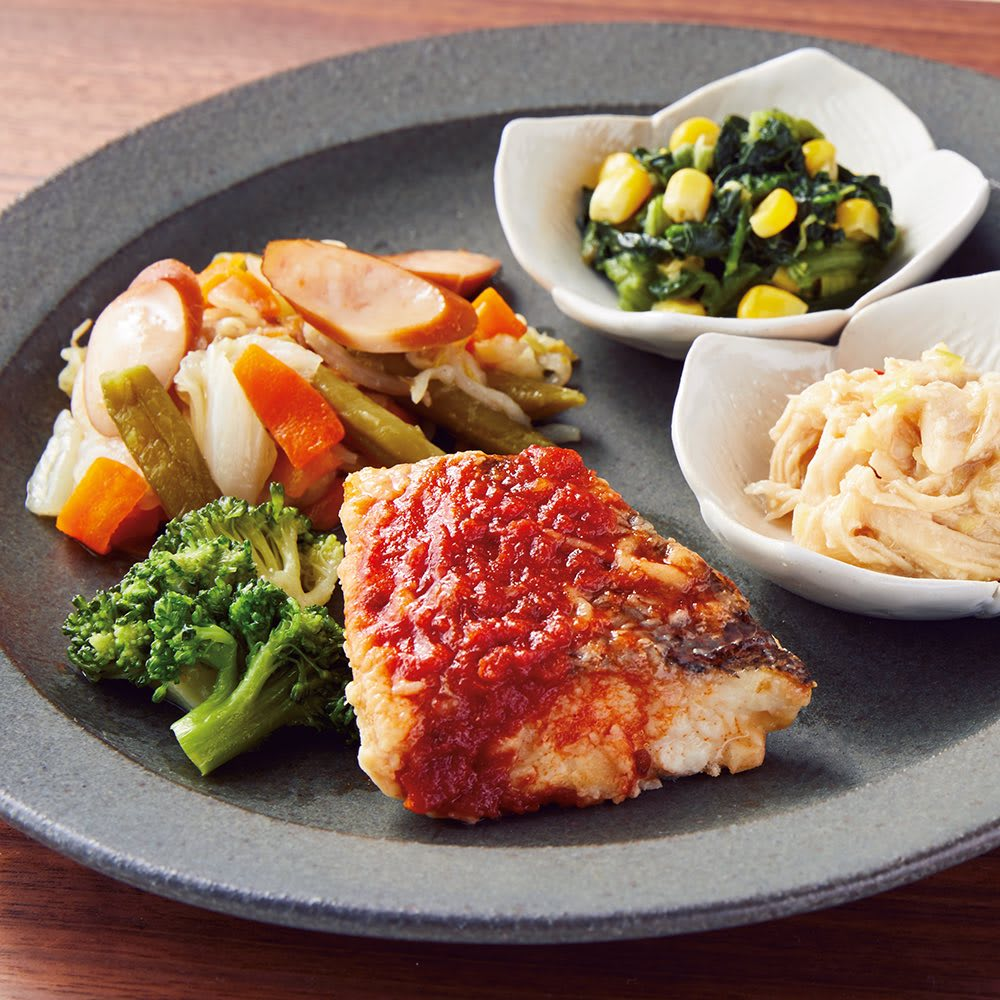健康バランス7食セット お弁当向き惣菜