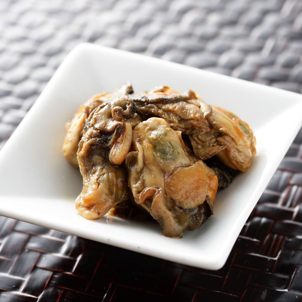 【生産者応援】北海道産 牡蠣の甘露煮 (80g×4パック) 魚加工品
