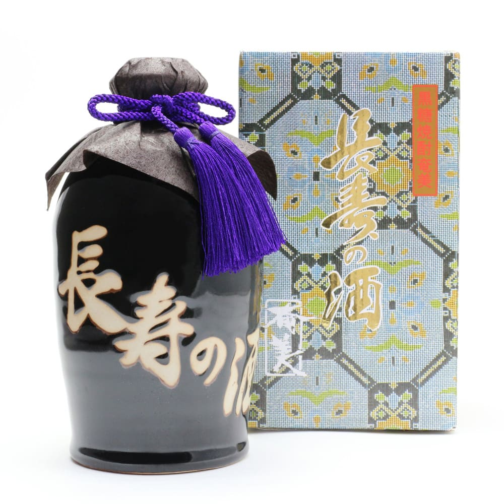 """【敬老の日】奄美 長寿の酒(黒糖焼酎) """"長寿の島""""にちなんだ黒糖焼酎です!"""