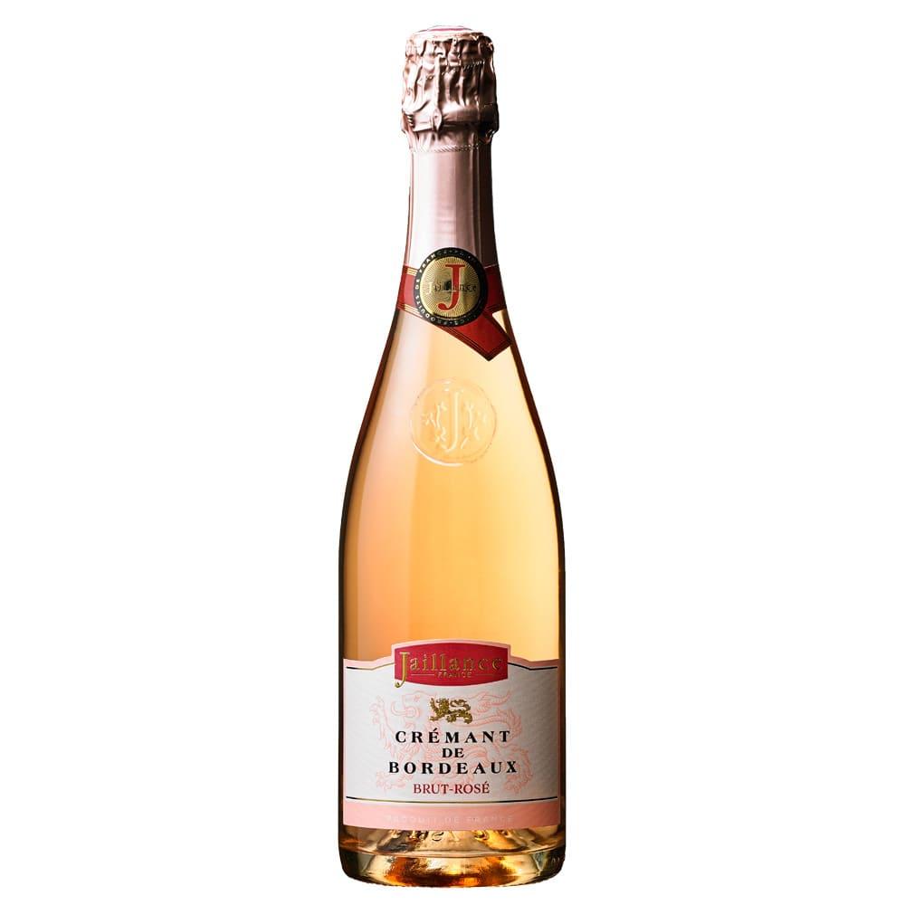 【スパークリングワイン】クレマン・ド・ボルドー・ジャイヤンス・ブリュット・ロゼ (750ml) シャンパーニュ製法で作られた、フランス・ボルドーのロゼのスパークリングワイン。