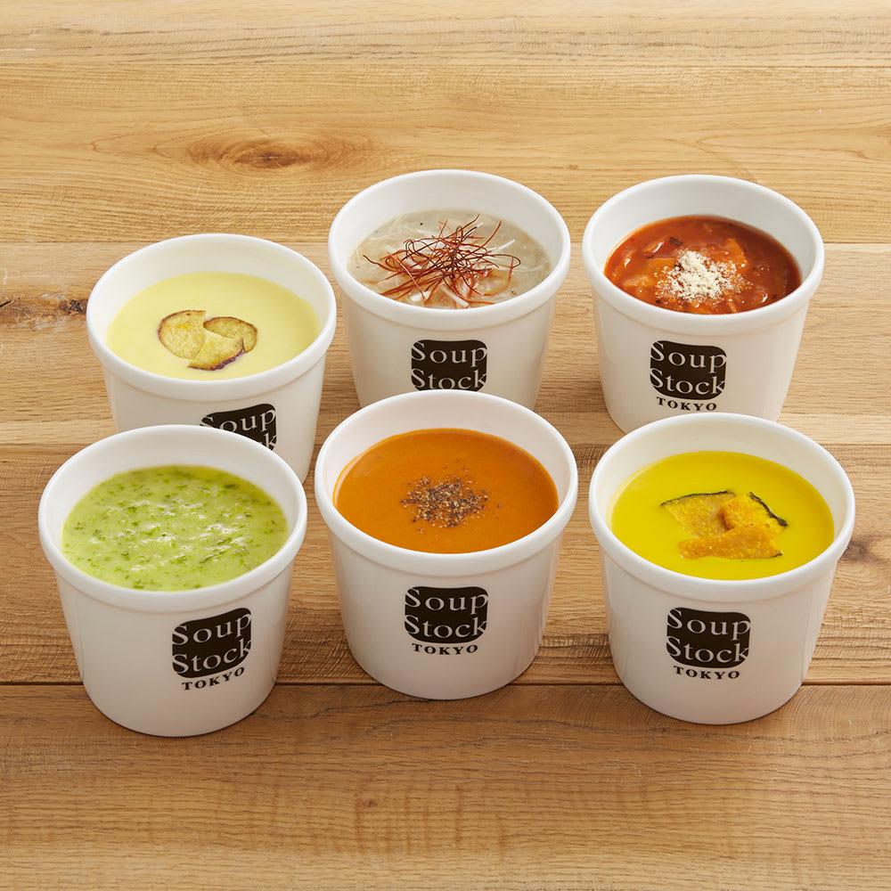 【母の日ギフト】Soup Stock Tokyo(スープストックトーキョー)6スープセット お惣菜加工品
