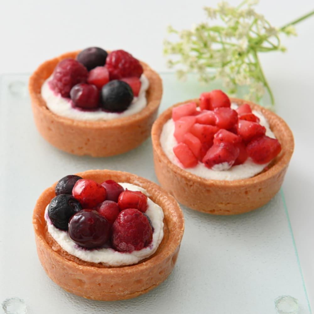 【母の日ギフト】ホシフルーツ 赤いベリーと爽やかチーズのタルト (2種 計6個) 洋スイーツ