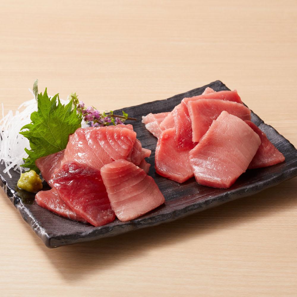 【父の日ギフト】天然本鮪・南まぐろ(切り落とし) (計600g) 魚・海産生鮮品