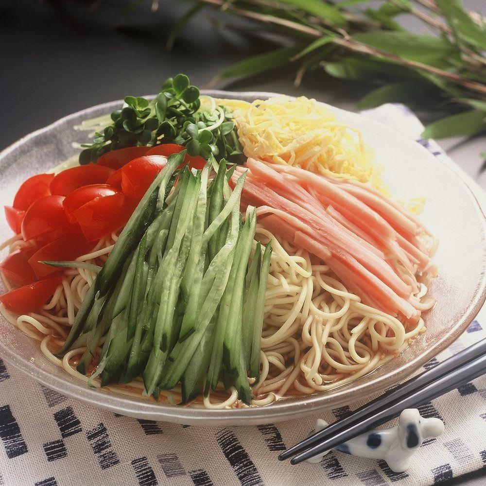 【8月お中元】博多冷やし中華10食 お米・パン・麺類