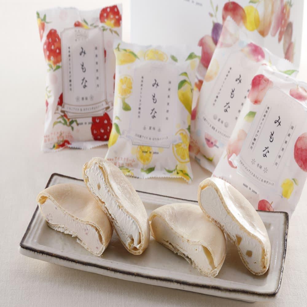 【8月お中元】アイスモナカ「みもな」4種セット 洋スイーツ