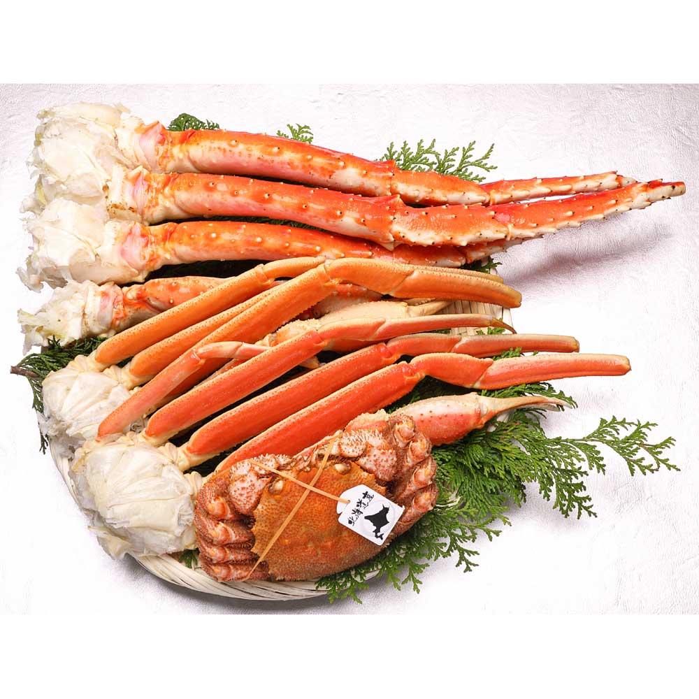3大がにセット (約1.8kg) 魚・海産加工品