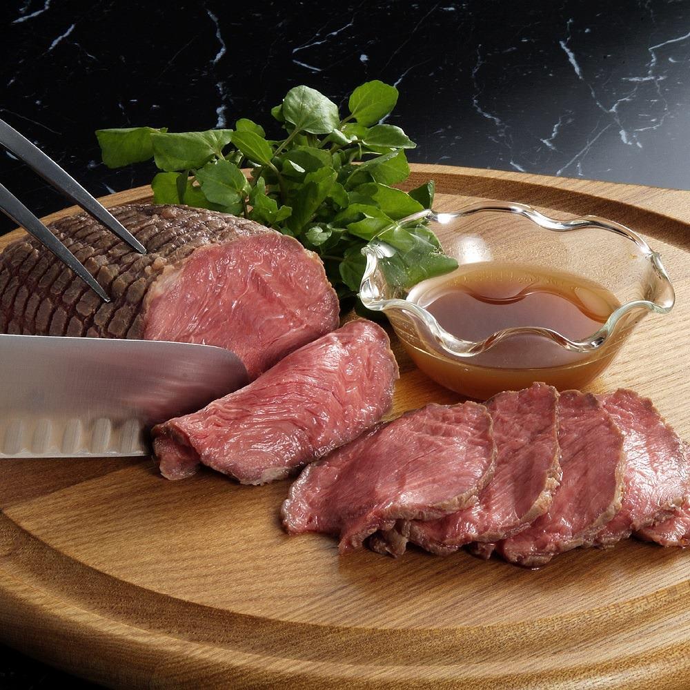 【お歳暮ギフト】北海道産牛・塩のローストビーフ (350g) 洋惣菜