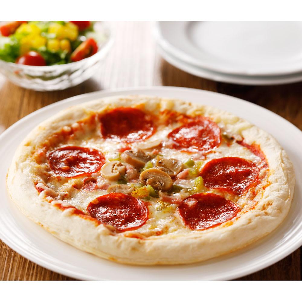 【業務用食材・食品】業務用ピザ (4種×2枚 計8枚) ナポリ風マルゲリータピザ