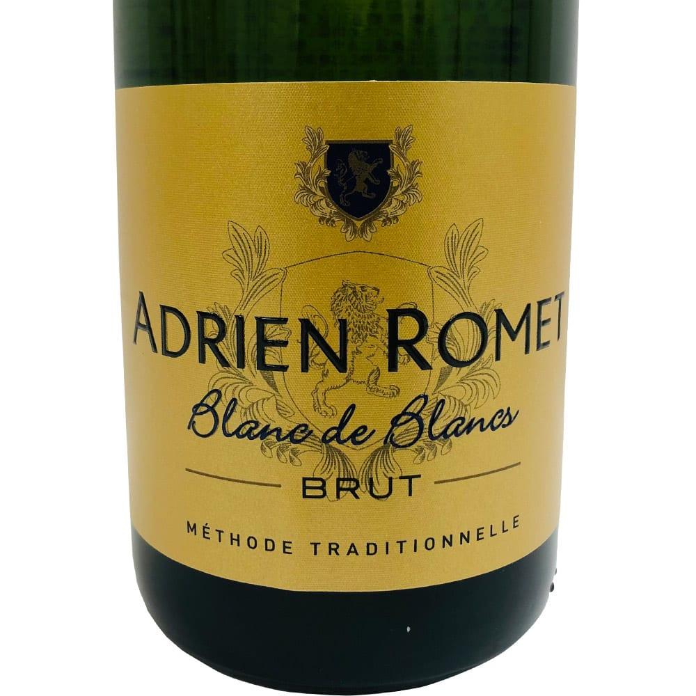 【スパークリングワイン】アドリアンロメ ヴァン・ムスー ブリュット (750ml) フレッシュな味わいで、食前酒や前菜と合わせるのに最適です。