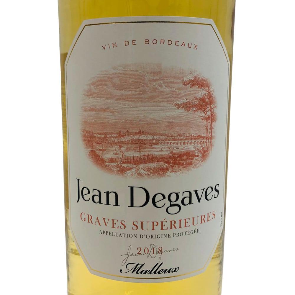 【白ワイン】ジャンドガーヴ・グラーヴ・シュペリュール (750ml) ワインだけでもゆっくり味わいを楽しめる一本です。