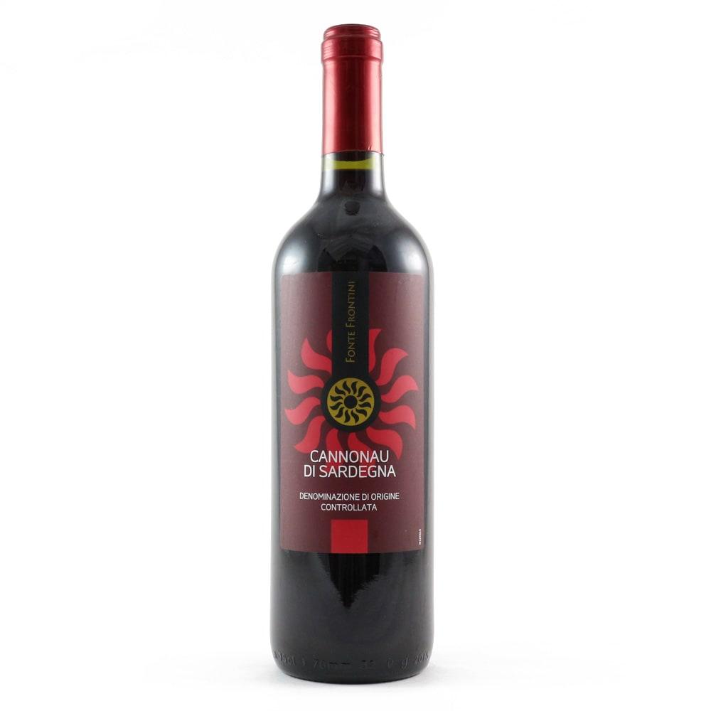 【ワイン】フォンテフロンティーニ カンノナウ ディ サルディーニャ ※ラベル等が変更になることがございます。※ヴィンテージは変更になることがございます。