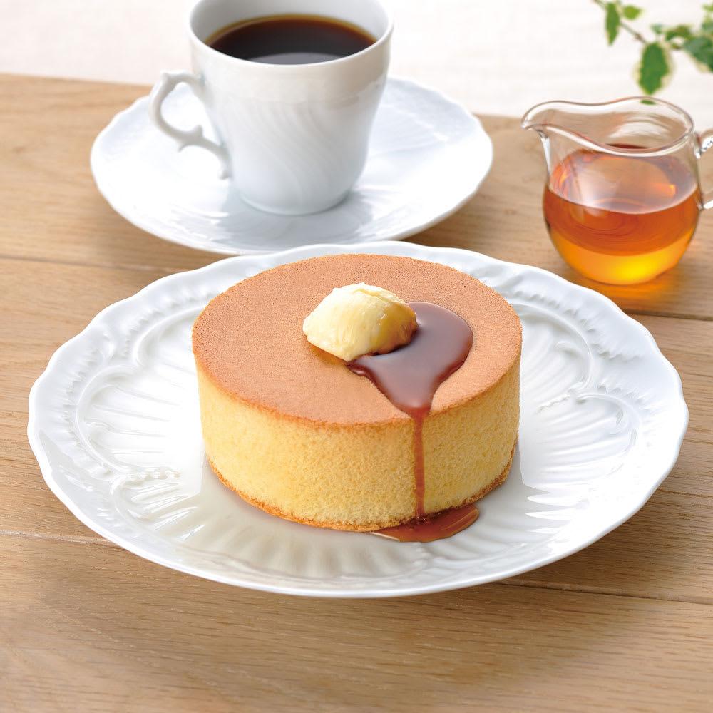 味の素冷凍食品 厚焼きスフレパンケーキ (20個) 盛り付け例