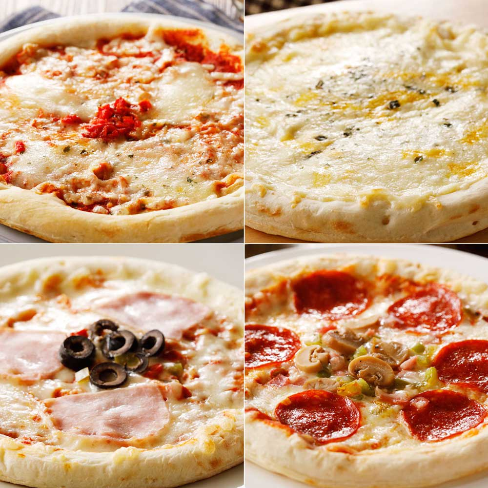 【業務用食材・食品】業務用ピザ (4種×2枚 計8枚) 洋惣菜