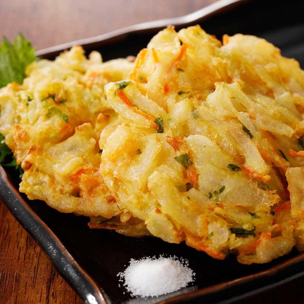【業務用食材・食品】具だくさん 野菜かき揚げ (800g×2袋) 和惣菜