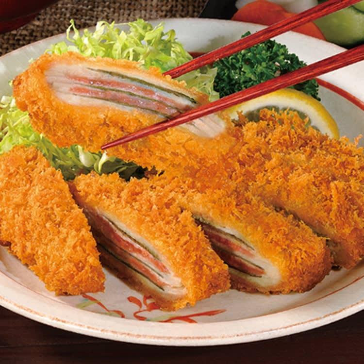 三元豚のミルフィーユカツ ウメシソ/シソチーズ お惣菜