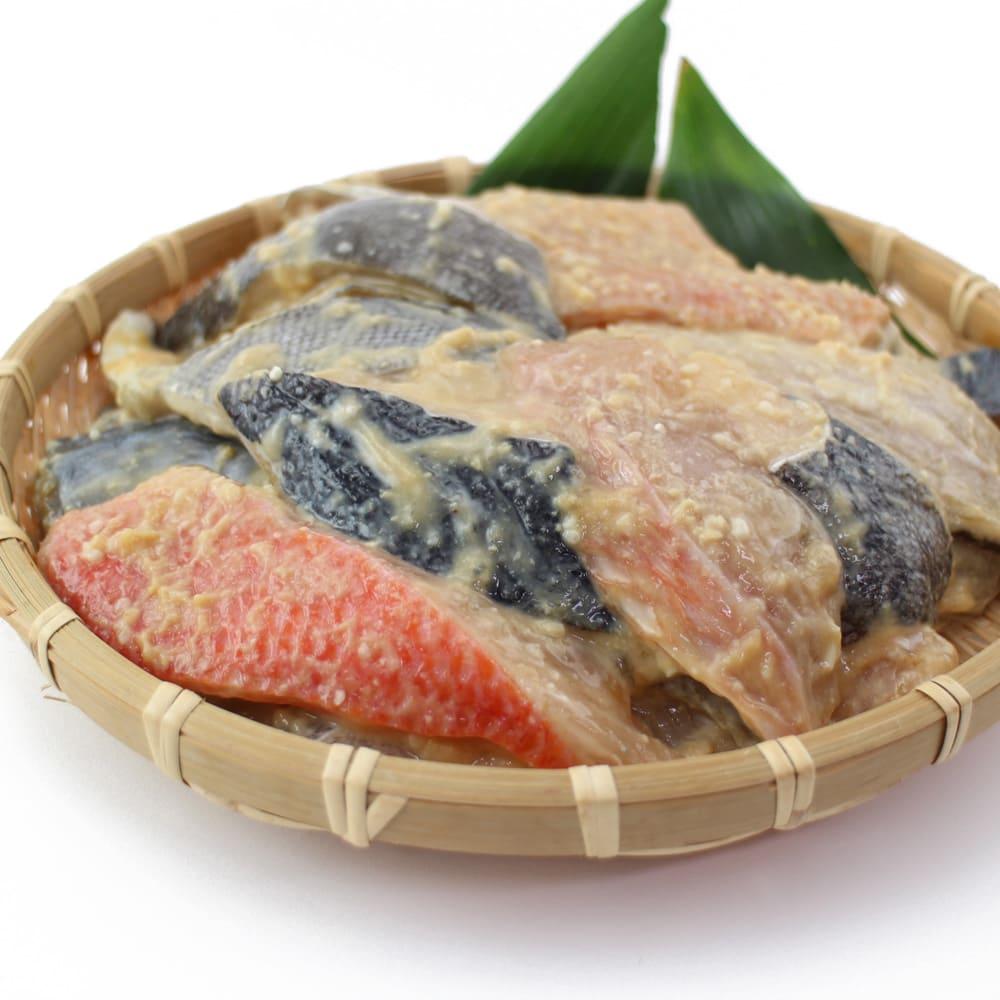 日和屋 切り落とし西京漬け (500g×2袋) どどんと!1kgの3種類の西京漬け!さわら、銀だら、金目鯛と厳選された美味しい魚と京都のオリジナルブレンドの味噌の味をお楽しみいただけます。