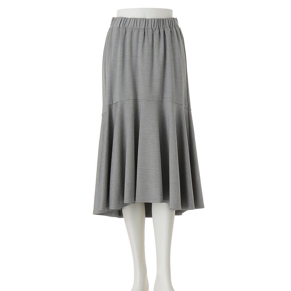 切り替えマーメード ジャージースカート