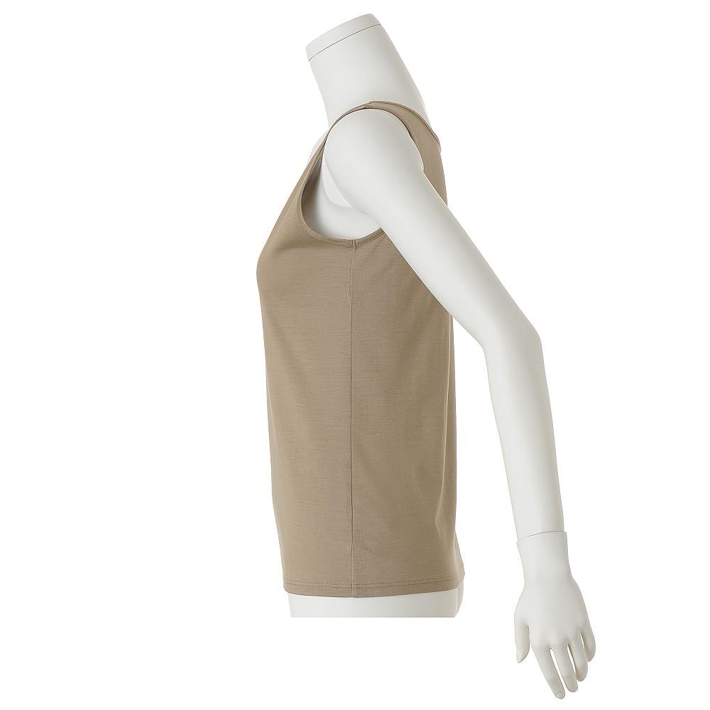 リヨセルコットン タンクトップ3色セット(バッグ付き)
