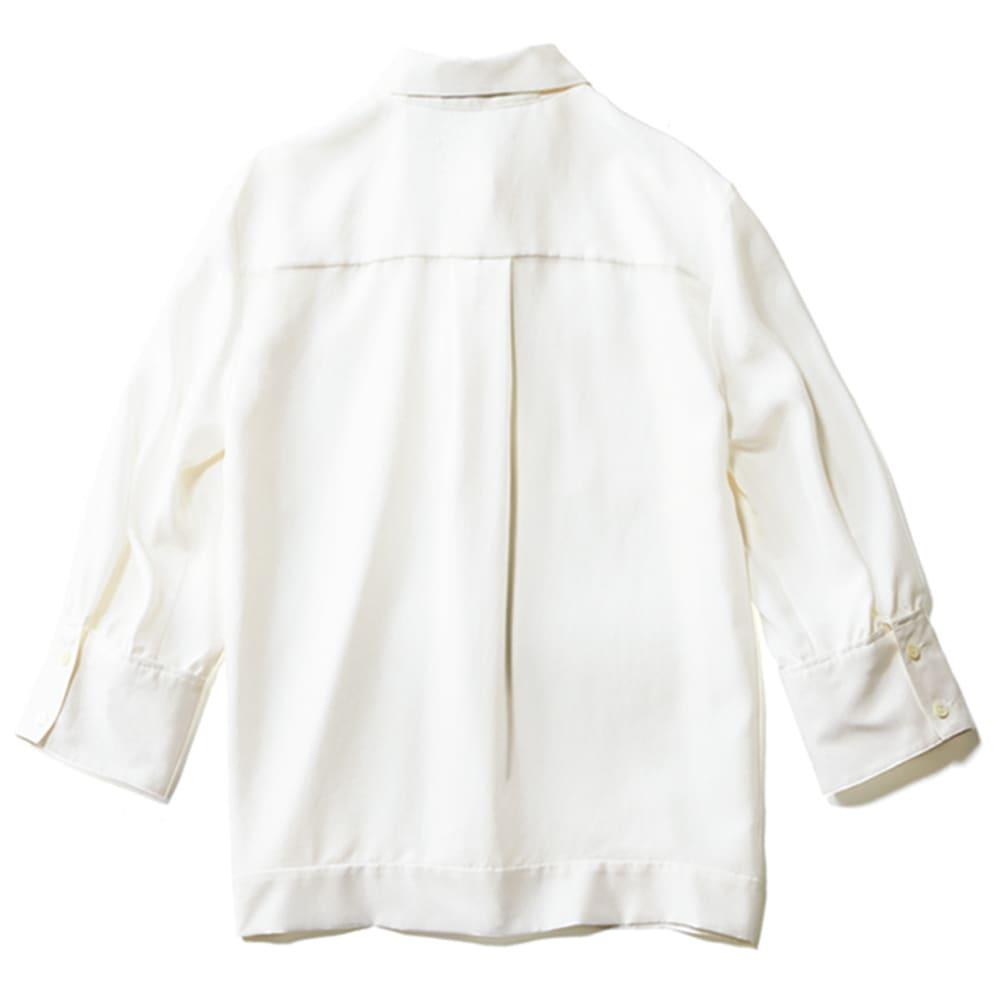 サンドウォッシュ シルク デザインシャツ(サイズ15) BACK