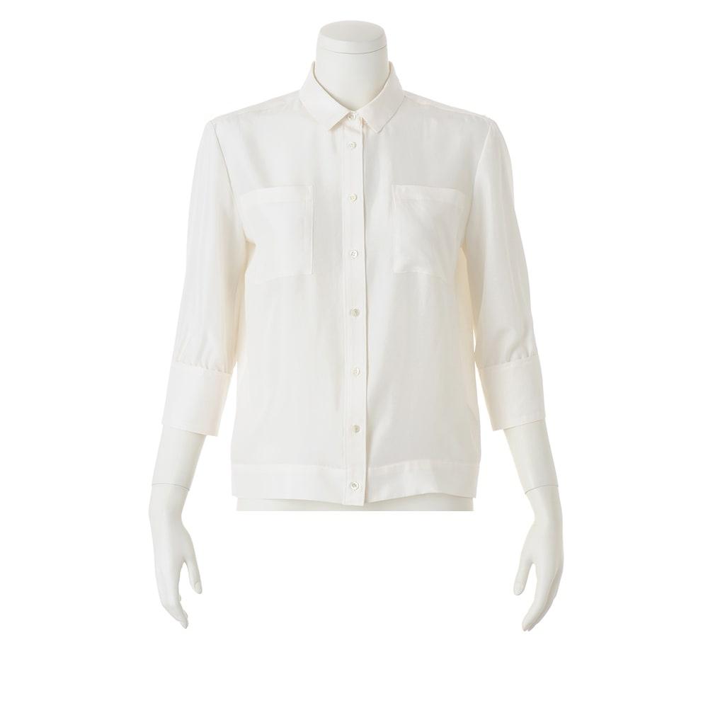 サンドウォッシュ シルク デザインシャツ(サイズ15)
