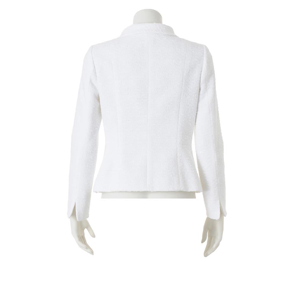 フランス素材 ツイードジャケット