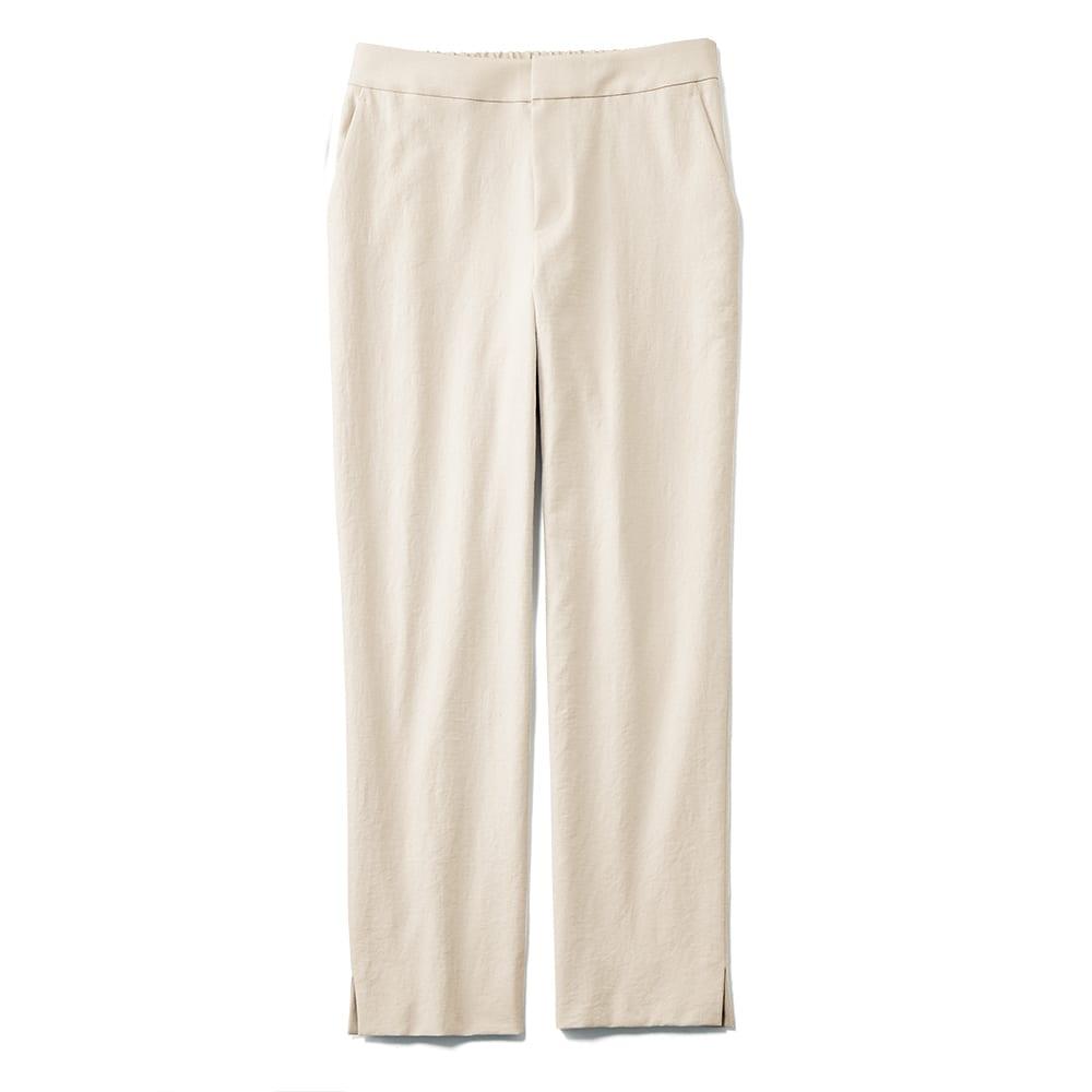 (股下丈60cm) ボディシェルドライ(R)混 サイドスリット パンツ