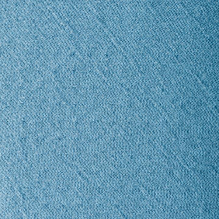 (L) 接結天竺ギャザータートル プルオーバー(大きいサイズ) 表面 表面にリヨセル、裏面にコットンを使った、シボ感のある表情が特徴。