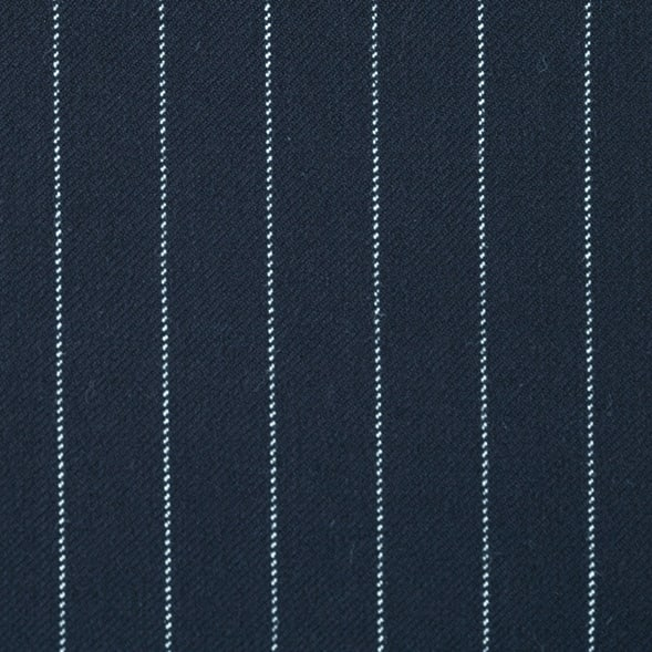 ストライプジャージー 裏起毛ペグトップパンツ(大きいサイズ) (イ)ネイビー系