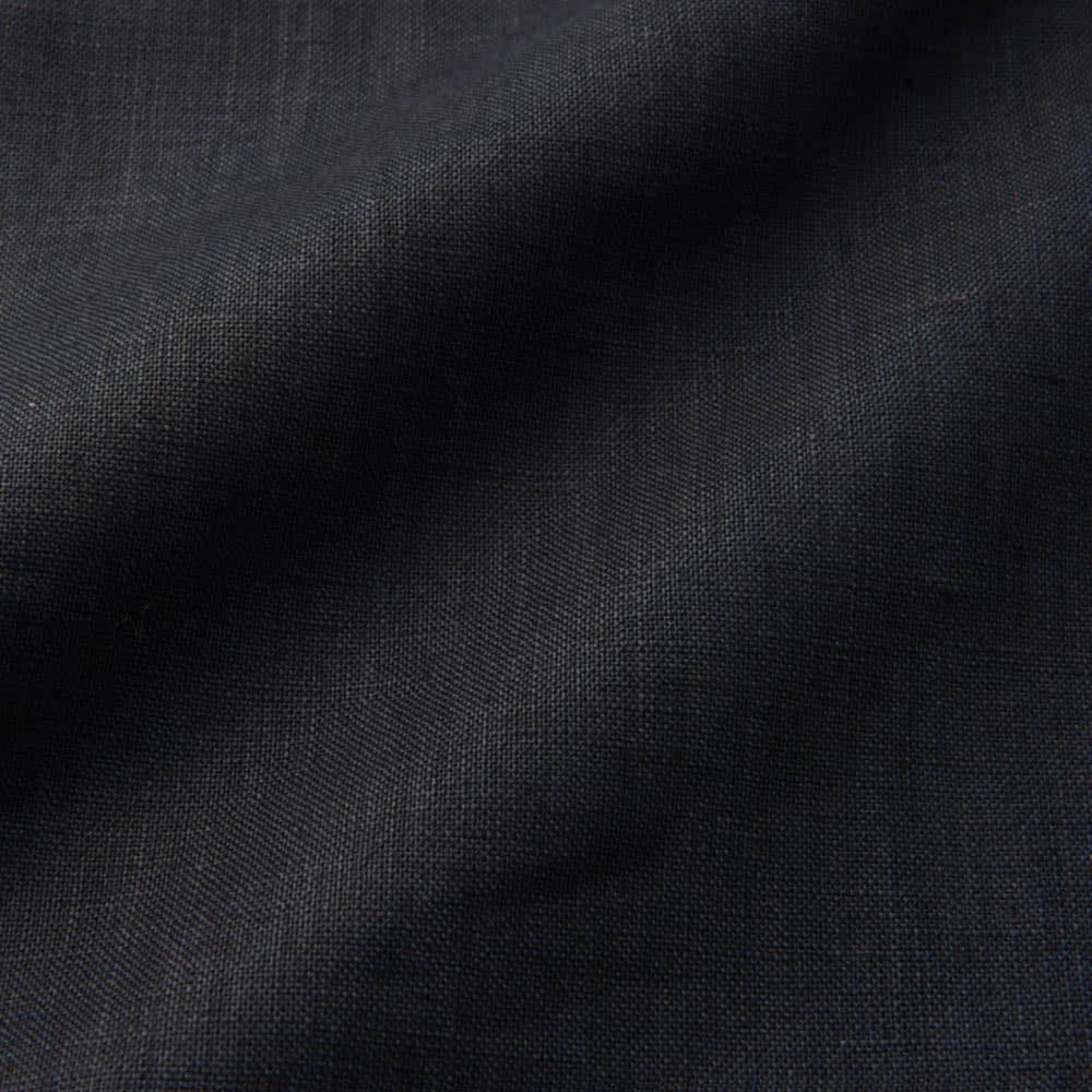 Ambra chiara/アンブラキアラ リネン100% サックワンピース(イタリア製) 生地アップ