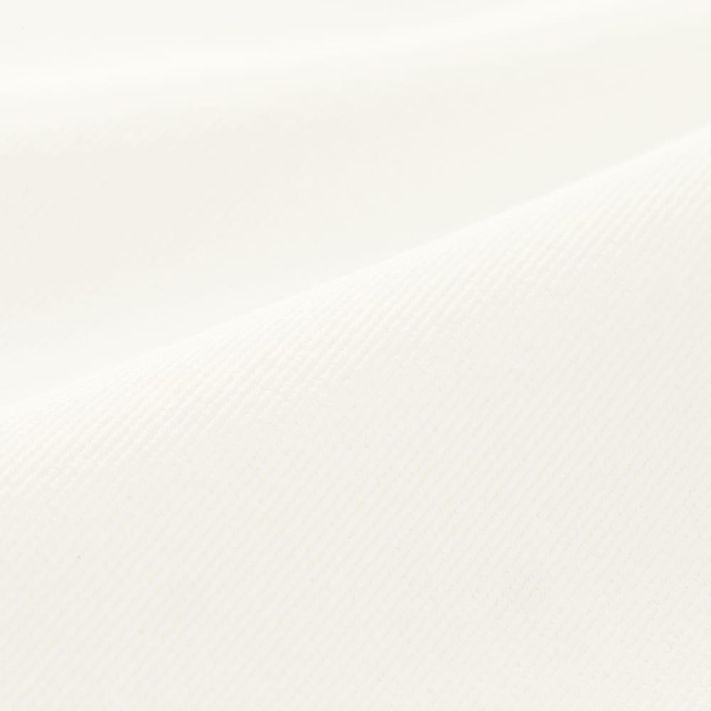 (股下丈58cm)撥水 ボディシェル タック テーパードパンツ (ア)オフホワイト 生地アップ
